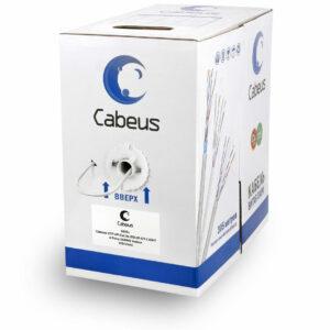 Витая пара кат.5e Cabeus UTP-4P-Cat.5e-SOLID-GY-LIGHT 4 пары